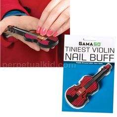 Unique Gifts and Tiniest Violin Nail Buff at Perpetual Kid. When someone is complaining, the first thing you want to do is pull out a small violin to cue the sa