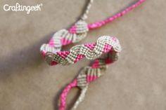 Craftingeek*: Pink: Patron de Nudos Macramé