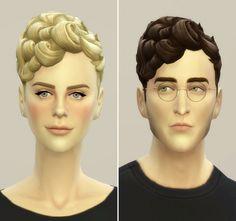 EP01 Pixi curly hair edit at Rusty Nail via Sims 4 Updates