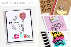 Sneak Peek at Studio Calico, Card Kit, It Works, Stamp, Park, Learning, Create, Birthday, Projects