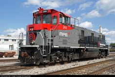 RailPictures.Net Photo: MPEX 244 Motive Power Industries MP21B Prototype at Decatur, Illinois by Doug Wolfe
