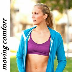 cf1f3ed7f5 Moving Comfort Aurora A B Seamless Sports Bra XS This seamless design  features engineered shaped