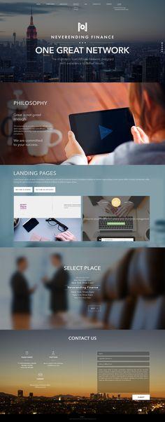 Homepage finance