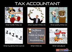 Tax Accountant -what I do