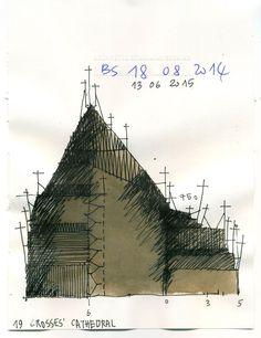 Beniamino Servino. 19 crosses' Cathedral.