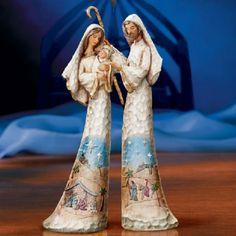 from Thomas Kinkade Christmas Nativity Scene, Christmas Wood, Nativity Scenes, Thomas Kinkade, O Holy Night, Birth Of Jesus, Holy Family, Native Art, Merry Xmas