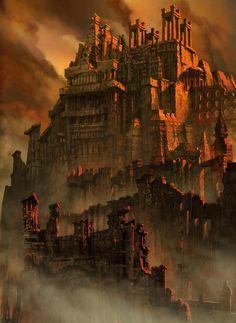 Abandoned Castle by MarieCrazyDove