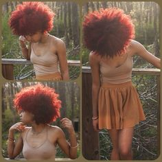 Curly And Red! - http://www.blackhairinformation.com/community/hairstyle-gallery/natural-hairstyles/curly-red/ #naturalhairstyles