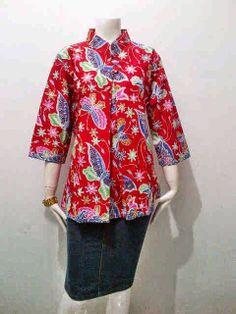 Model Blouse Batik Wanita Kupu - Kupu Call Order   085-959-844-222 3213887b5f