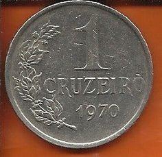 moeda 1 cruzeiro 1970 - níquel