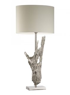 Fontaine Nickel Table Lamp