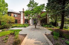 This house is everything you'd expect a giant Bridle Path mansion to be. We covered this home the last time i. Art And Architecture, Paths, Toronto, Real Estate, Mansions, House Styles, Home, Manor Houses, Real Estates