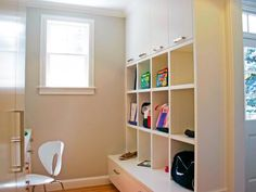 Mudroom cubbies help you maximize your storage in a way that meets your family's needs.