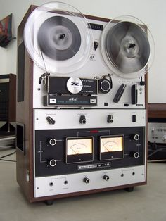 Akai M 10 reel to reel | Flickr - Photo Sharing!