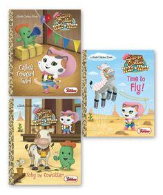 Sheriff Callie's Wild West Little Golden Book Hardcover Set by Disney Junior #zulily #zulilyfinds