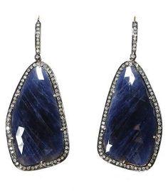 Navy Essentials: Caviar Dreams Blue Sapphire Earring