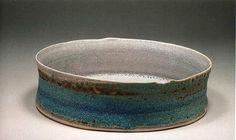 Ceramics by Jacqui Ramrayka at Studiopottery.co.uk - 2012.Flat dish, diameter 34cm.