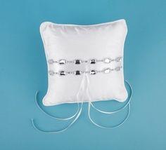 Silk Jewel Ring Pillow