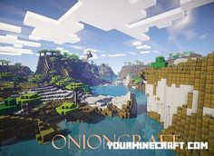 OnionCraft Resource Pack is a new simplistic but beautiful texture pack that I am creating. It is not a very serious texture pack as I replaced the melons
