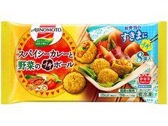 スパイシーカレーと野菜のプチボール | 商品情報 | 味の素冷凍食品