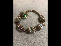 Interlace Beaded Bead & Tubular Herringbone Chain - A Bronzepony Beaded Jewelry . - Interlace Beaded Bead & Tubular Herringbone Chain – A Bronzepony Beaded Jewelry Design – YouTub - Jewelry Tags, Diy Jewelry, Jewelery, Handmade Jewelry, Fashion Jewelry, Jewelry Making, Jewelry Ideas, Jewelry Clasps, Handmade Rings