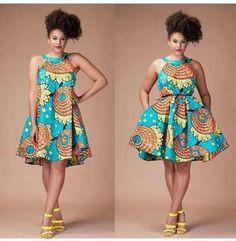 Image result for ghanaian print dresses