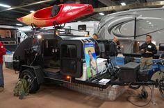 teardrop camper interiors   ... teardrop trailer debuts at RVIA trade show   The Small Trailer