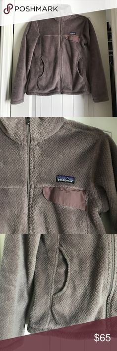 Patagonia re tool zip up sweater size small Like new! Light purple color Patagonia Sweaters