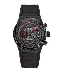 Discover the TAG Heuer Carrera Calibre HEUER 01 Automatic Chronograph 45 мм CAR2A1J.FC6400 .
