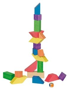 Stone Starter Set!  Great for little architects!  Hand made by Anker in Germany!  Award winning toys!