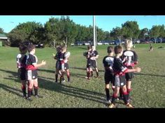 Rugby League Warm Up Activity (Washing Machines)