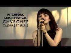 """Chvrches perform """"Clearest Blue"""" - Live @ Pitchfork Music Festival 2015 // Still my favourite of all live acts man. The introduction is just just just brilliant with the Vocal + Rhythm synth. Also, who can not forget the guy with the Sombrero and the guy in yellow dancing when the beat drops!"""