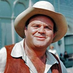 "Dan Blocker as Hoss Cartwright. My Number one Favorite of the Bonanza Series. Then Lorne Green as (""Pa"") Ben Cartwright."