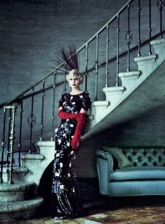 bohemea:  Carey Mulligan - Vogue by Mario Testino, May 2013