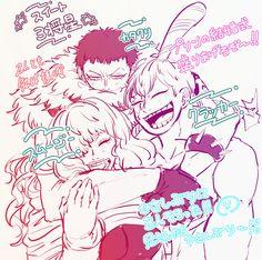 Big Mom Crew Charlotte Katakuri Smoothie Cracker Sweet Commanders One Piece