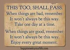this too,shall pass