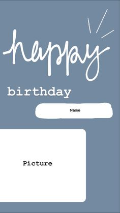 Creative Instagram Stories, Instagram Story Ideas, Instagram Quotes, Happy Birthday Love Quotes, Pastel Background Wallpapers, Instagram Frame Template, Happy Wallpaper, Birthday Template, Name Pictures