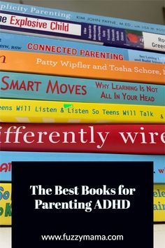 ADHD Tips for Parents | These are the books I read over and over again as a parent of two kids with ADHD. Parenting Books, Kids And Parenting, Good Books, My Books, Adhd Symptoms, Adhd Kids, Alternative Treatments, Problem Solving