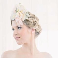 Romantic vintage flower couture xx  @chanelle rose flowers and events xx