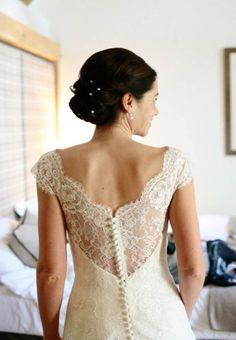 White Mischief Bride wears Augusta Jones bespoke wedding dress