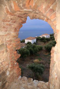 Koroni coastal village, Messinia, Peloponnese_ Greece