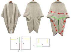Dejligt stort sjal