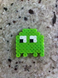 Perler beads pac man ghost