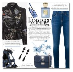 """EDGY STYLE"" by truthjc ❤ liked on Polyvore featuring Gucci, Tom Ford, Alexander McQueen, Frame Denim, Givenchy, Valentino, Bella Bellissima, Benefit and EdgyStyle"