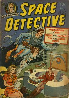 Space Detectives, No. 1