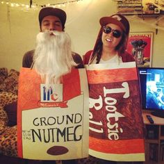 old spice and candy rapper showed up at the halloween pun partay hey - Halloween Puns Costume
