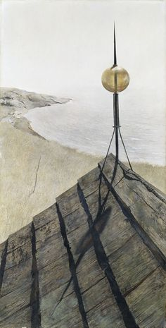 Andrew Wyeth, Northern Point, 1950. Tempera on gesso panel. The Ella Gallup Sumner and Mary Catlin Sumner Collection Fund, 1950.603 © Andrew Wyeth.