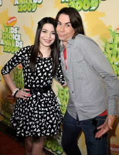 Jerry Trainor (and Miranda Cosgrove, although I'm not a fan of hers)