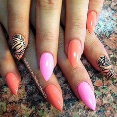 thebeautybox1211 dresses up her summer nails