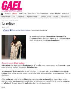 Gael. http://www.gael.be/mode/tendances-actu/138923/la-releve